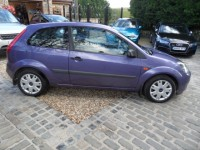 FORD FIESTA 1.6 STYLE CLIMATE 16V Automatic 3 door hatch amethyst purple metallic ford service history AA cover
