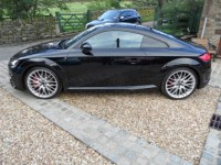AUDI TT 2.0 TTS TFSI QUATTRO S LINE BLACK EDITION 2DR SEMI AUTO QUILTED SPORT HEATED SEATS BOSE SOUND