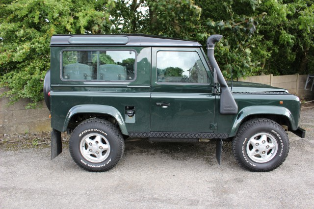 Used LAND ROVER DEFENDER 2.5 90 COUNTY SW TDI in Lancashire
