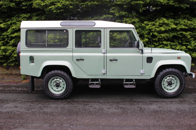 Used LAND ROVER DEFENDER 110 COUNTY STATION WAGON 2.5  in Lancashire