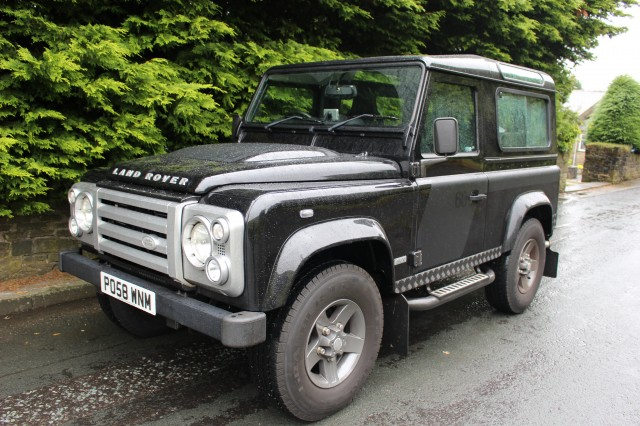 Used LAND ROVER DEFENDER 2.4 90 SVX SWB 3DR in Lancashire