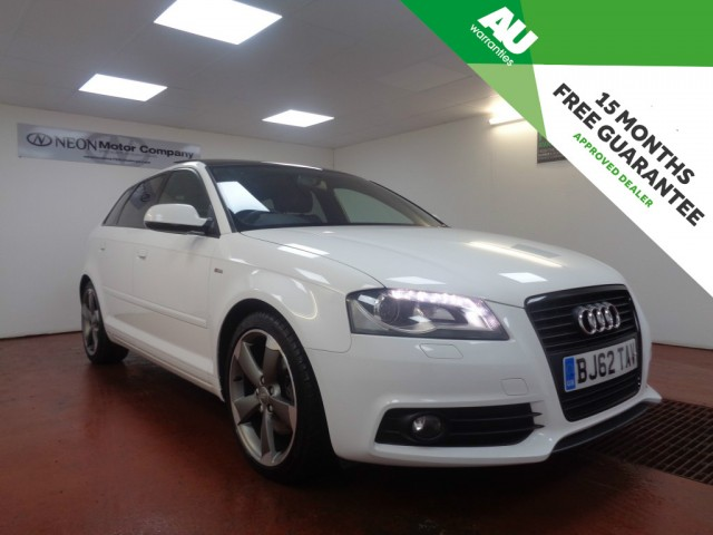 Used AUDI A3 2.0 SPORTBACK TDI BLACK EDITION S LINE  5DR in West Yorkshire