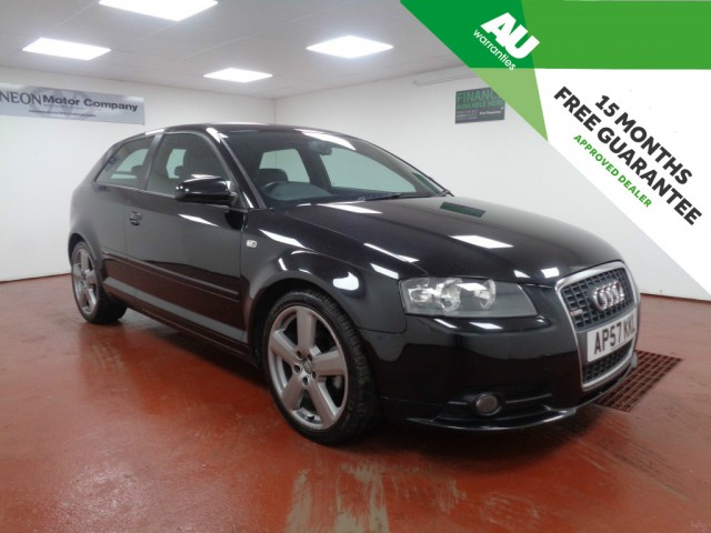 Used AUDI A3 2.0 TDI S LINE 3DR in West Yorkshire