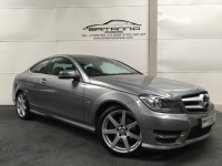 MERCEDES-BENZ C-CLASS 2.1 C220 CDI BLUEEFFICIENCY AMG SPORT ED125 2DR AUTOMATIC - 259072
