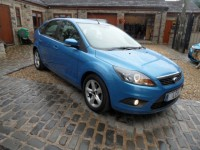 FORD FOCUS 1.6 ZETEC climate TDCI 5 door hatch 2009 ford service pack 2 pre owners a/c alloys heated screen AA