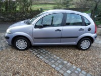 CITROEN C3 1.4 petrol DESIRE a/c 5 door hatch 77k s/h full mot & serviced only 2 pre owners from new cd radio