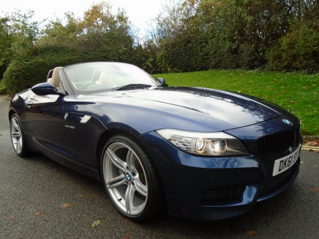 Used Bmw Z Series 2 5 Z4 Sdrive23i M Sport Highline Edition 2dr For