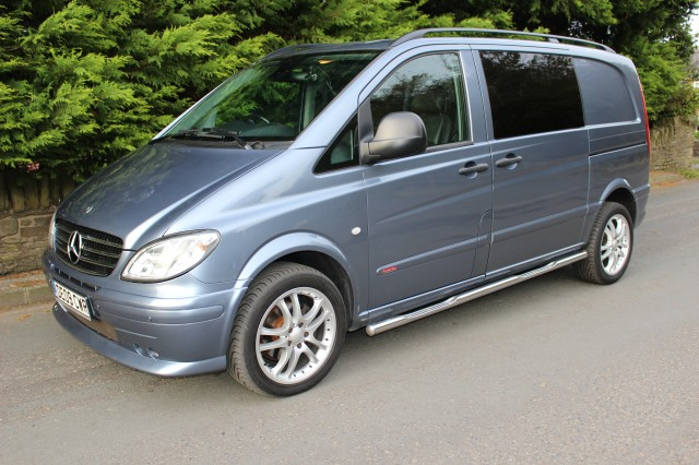Used MERCEDES-BENZ VITO 3.0 120 CDI COMPACT AUTOMATIC in Lancashire