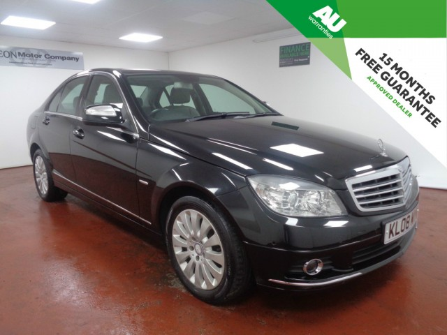 Used MERCEDES-BENZ C-CLASS 1.8 C180 KOMPRESSOR ELEGANCE 4DR AUTOMATIC in West Yorkshire