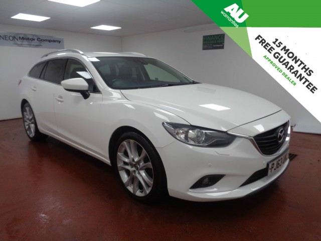 Used MAZDA 6 2.2 D SPORT NAV 5DR in West Yorkshire