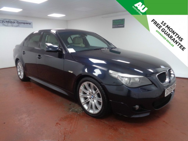 Used BMW 5 SERIES 2.0 520D M SPORT BUSINESS EDITION 4DR AUTOMATIC in West Yorkshire