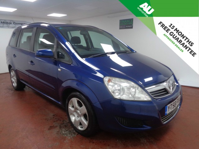 Used VAUXHALL ZAFIRA 1.6 EXCLUSIV 5DR in West Yorkshire