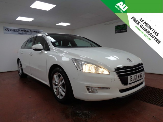 Used PEUGEOT 508 1.6 E-HDI SW ACTIVE 5DR SEMI AUTOMATIC in West Yorkshire
