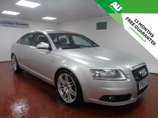 Used AUDI A6 2.7 TDI LE MANS EDITION 4DR CVT in West Yorkshire