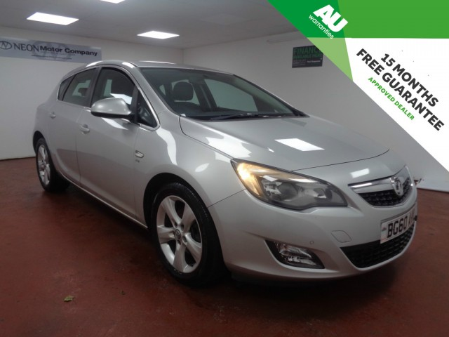 Used VAUXHALL ASTRA 1.7 SRI CDTI 5DR in West Yorkshire