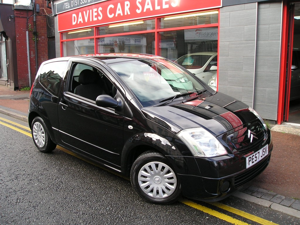 citroen c2 cool 1 4 for sale in ellesmere port davies. Black Bedroom Furniture Sets. Home Design Ideas
