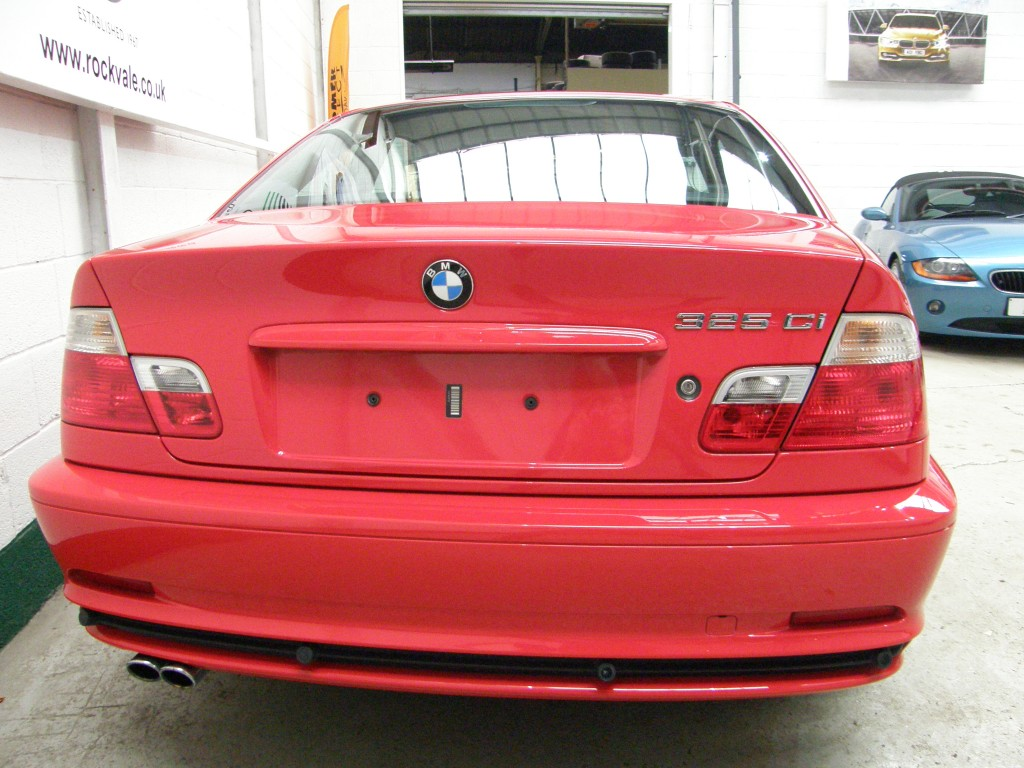 BMW 3 SERIES 2.5 325CI SE 2DR AUTOMATIC