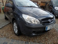 HYUNDAI GETZ 1.5 GSI CRTD 5 door diesel hatch 91k fsh 2 pre owners serviced valeted AA approved dealer hpi clear