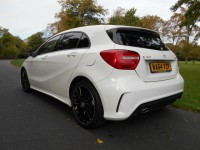 MERCEDES-BENZ A-CLASS 1.5 A180 CDI BLUEEFFICIENCY AMG SPORT 5DR AUTOMATIC