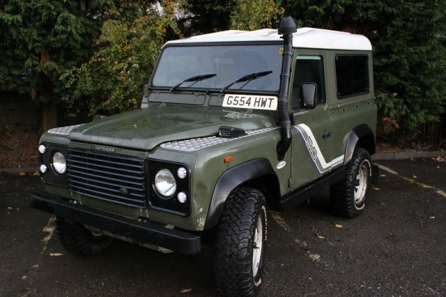 Used LAND ROVER 90 2.5 4CYL HT DT in Lancashire