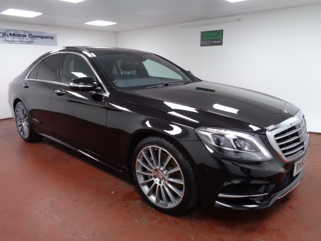 Used MERCEDES-BENZ S-CLASS 3.0 S 350 D AMG LINE 4DR AUTOMATIC in West Yorkshire