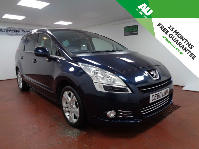 Used PEUGEOT 5008 2.0 HDI EXCLUSIVE 5DR in West Yorkshire