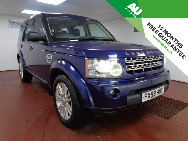 Used LAND ROVER DISCOVERY 3.0 4 TDV6 HSE 5DR AUTOMATIC in West Yorkshire