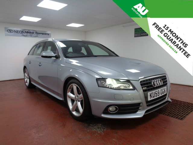Used AUDI A4 2.0 AVANT TDI S LINE SPECIAL EDITION 5DR in West Yorkshire