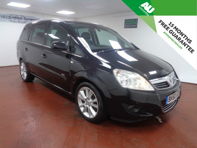 Used VAUXHALL ZAFIRA 1.9 DESIGN CDTI 5DR in West Yorkshire