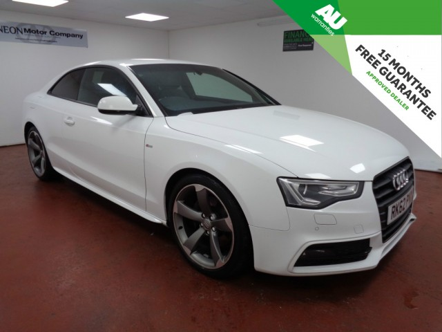 Used AUDI A5 3.0 TDI S LINE BLACK EDITION 2DR CVT in West Yorkshire