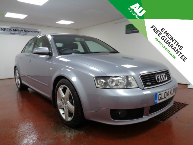 Used AUDI A4 2.5 TDI QUATTRO SPORT 4DR AUTOMATIC in West Yorkshire