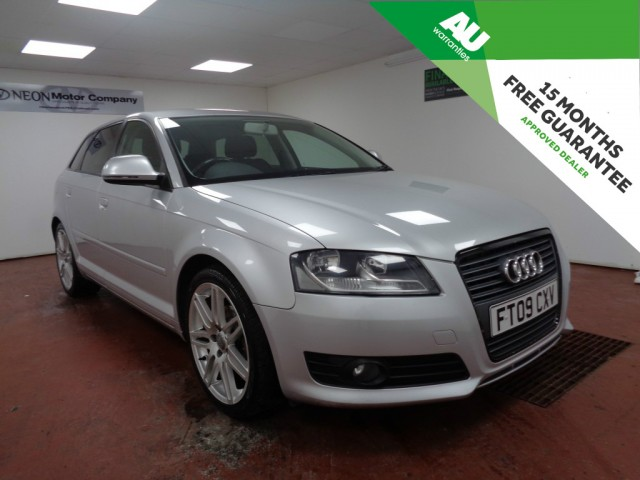 Used AUDI A3 1.9 TDI E SPORT 5DR in West Yorkshire