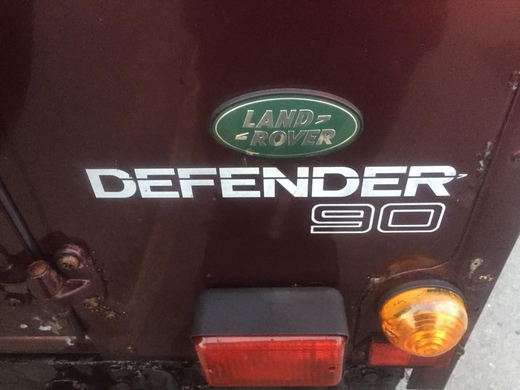 LAND ROVER DEFENDER 2.4 90 STATION WAGON SWB 3DR