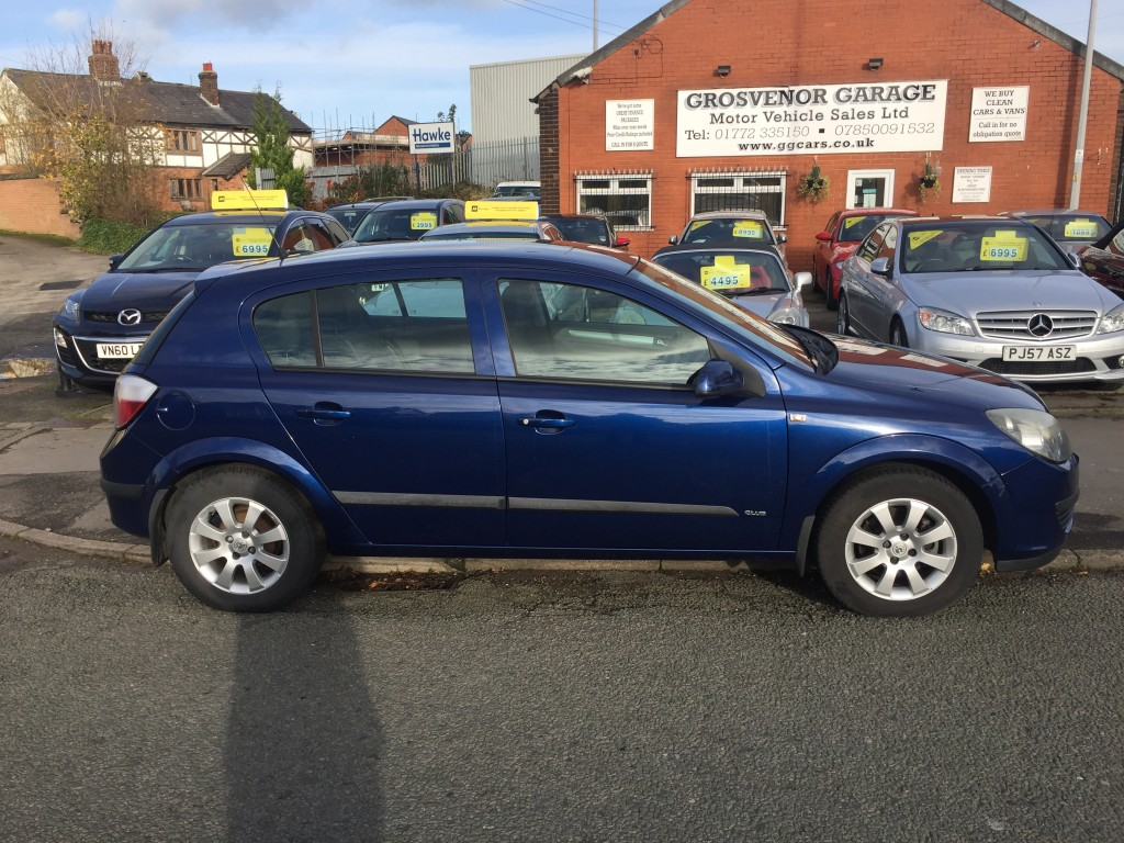 VAUXHALL ASTRA 1.4 CLUB 16V TWINPORT 5DR