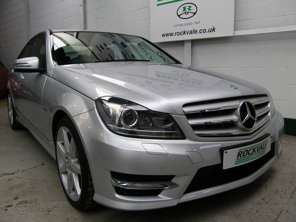 MERCEDES-BENZ C-CLASS 1.8 C250 CGI BLUEEFFICIENCY SPORT 4DR AUTOMATIC