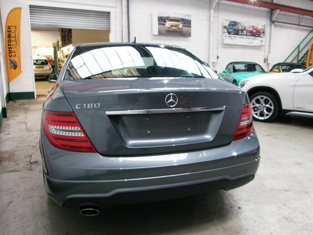 MERCEDES-BENZ C-CLASS 1.8 C180 BLUEEFFICIENCY SPORT 4DR AUTOMATIC