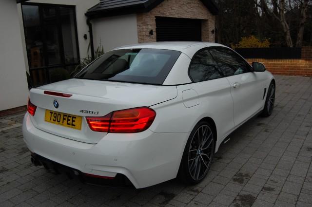 BMW 4 SERIES 3.0 430D M SPORT 2DR AUTOMATIC