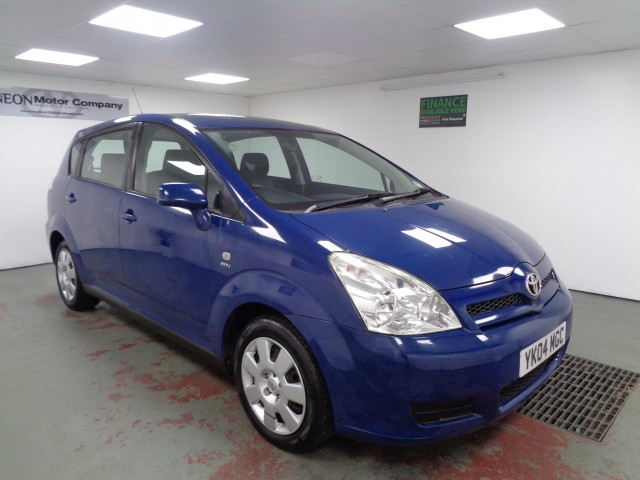 Used TOYOTA COROLLA 1.8 VERSO T2 VVT-I 5DR in West Yorkshire