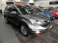 HONDA CR-V 2.2 I-DTEC ES-T 5DR 4wd diesel sat nav leather suede interior honda service pack AA approved