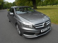 MERCEDES-BENZ A-CLASS 1.5 A180 CDI BLUEEFFICIENCY AMG SPORT 5DR