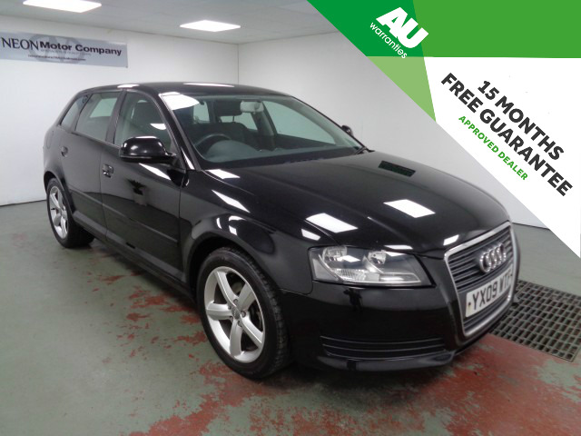Used AUDI A3 1.6 SPORTBACK MPI TECHNIK 5DR in West Yorkshire