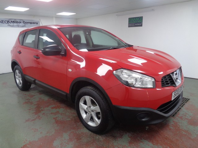 Used NISSAN QASHQAI 1.6 VISIA 5DR in West Yorkshire