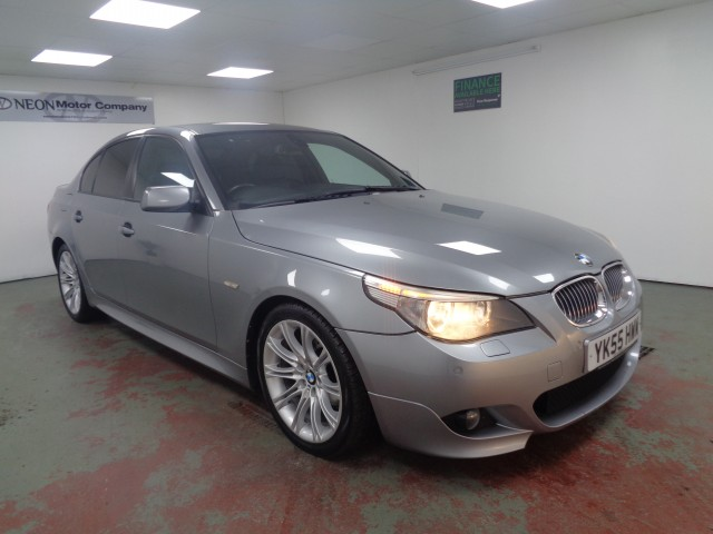 Used BMW 5 SERIES 2.5 525D M SPORT 4DR AUTOMATIC in West Yorkshire