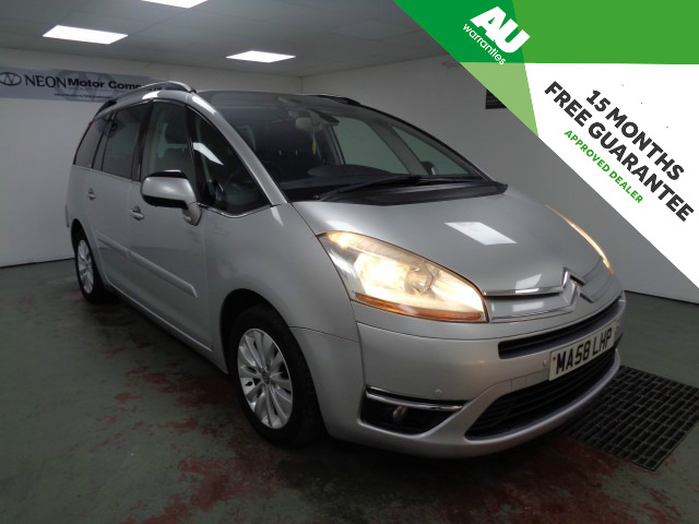 Used CITROEN C4 GRAND PICASSO 1.6 EXCLUSIVE HDI EGS 5DR SEMI AUTOMATIC in West Yorkshire