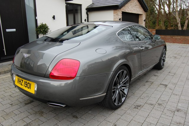 BENTLEY CONTINENTAL 6.0 GT SPEED 2DR AUTOMATIC
