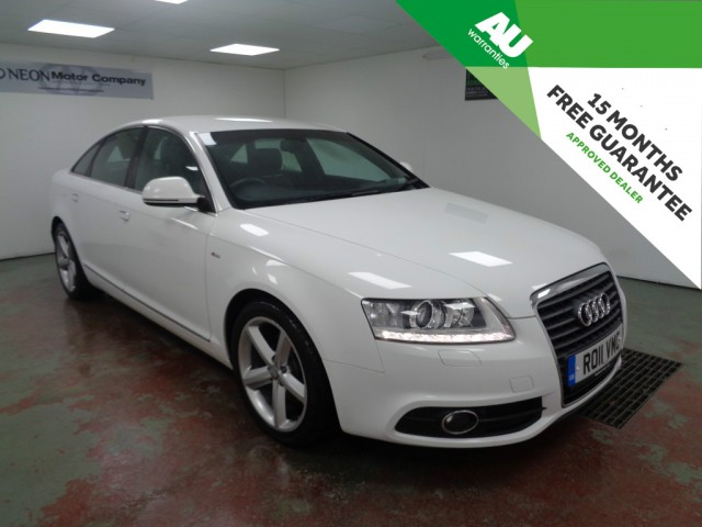 Used AUDI A6 2.0 TDI E S LINE 4DR in West Yorkshire
