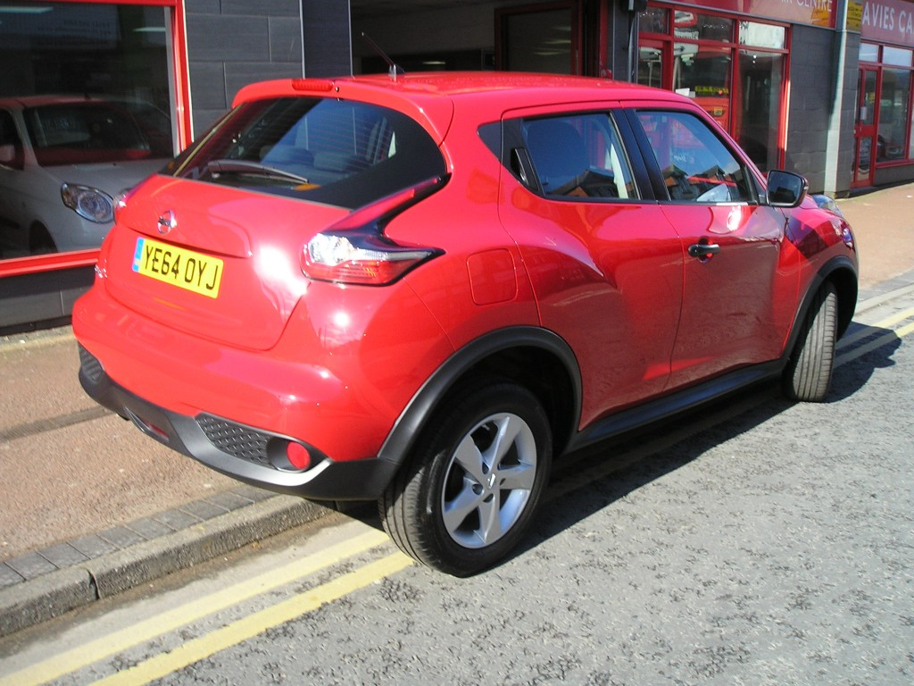nissan juke 1 6 visia 5dr for sale in ellesmere port davies car sales. Black Bedroom Furniture Sets. Home Design Ideas