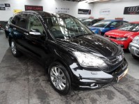 HONDA CR-V 2.2 I-DTEC EX 5DR SAT NAV LEATHER PANORAMIC GLASS ROOF CRUISE-CLIMATE CONTROL REAR CAMERA HIGH SPEC