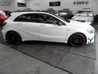 MERCEDES-BENZ A-CLASS 2.0 A45 AMG 4MATIC PREMIUM 5DR SEMI AUTO PAN ROOF SAT NAV HIGH SPEC ELECTRIC HEATED SEATS - CRUISE