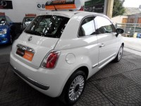 FIAT 500 1.2 LOUNGE 3DR A-C PANORAMIC GLASS SUNROOF ALLOYS MULTI FUNCTION STEERING WHEEL BLUE-TOOTH USB IPOD